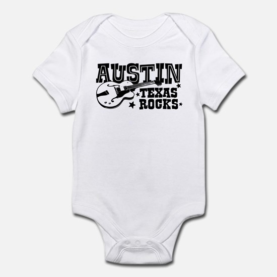 Austin Texas Rocks Infant Bodysuit