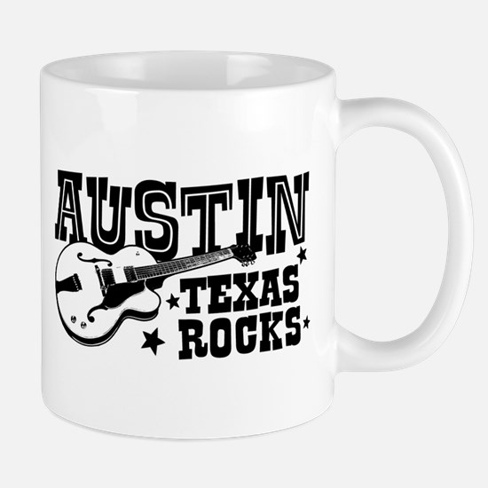 Austin Texas Rocks Mug