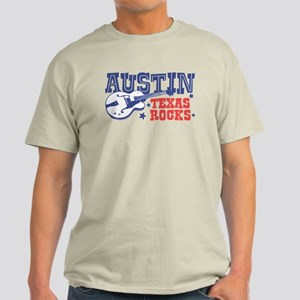 Austin Texas Rocks Light T-Shirt