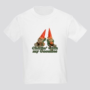 Chillin' with my gnomies Kids T-Shirt
