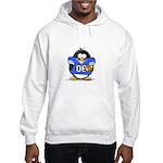 Blue Football Penguin Hooded Sweatshirt