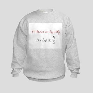 Embrace Ambiguity Kids Sweatshirt