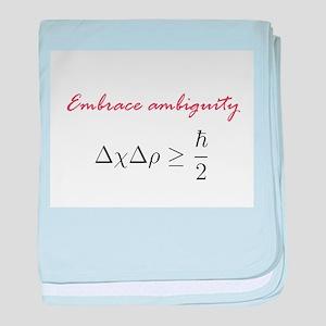 Embrace Ambiguity baby blanket