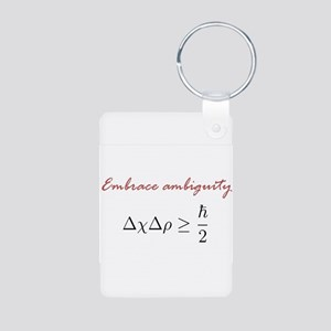 Embrace Ambiguity Aluminum Photo Keychain