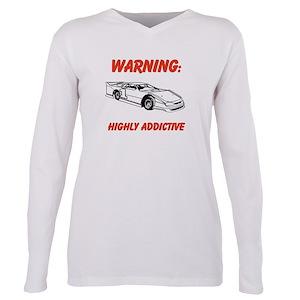 Dirt Track Racing Women s Plus Size T-Shirts - CafePress 0ca038c12e25