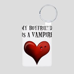My Boyfriend Is A Vampire Aluminum Photo Keychain