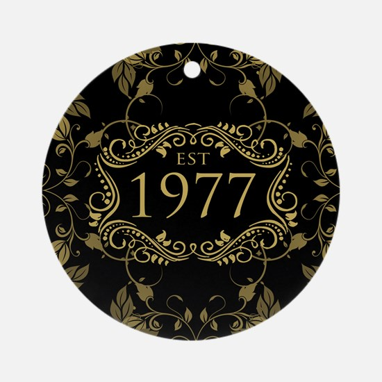 1977 Limited Edition Round Ornament