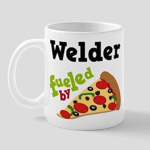 Welder Fueled By Pizza Mug