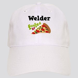 Welder Fueled By Pizza Cap