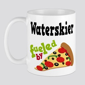 Waterskier Fueled By Pizza Mug