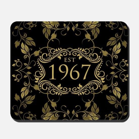 Established 1967 Mousepad