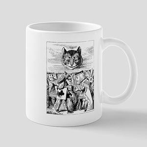 Vintage Cat Alice in Wonderland Mug