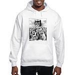 Vintage Cat Alice in Wonderland Hooded Sweatshirt