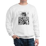 Vintage Cat Alice in Wonderland Sweatshirt