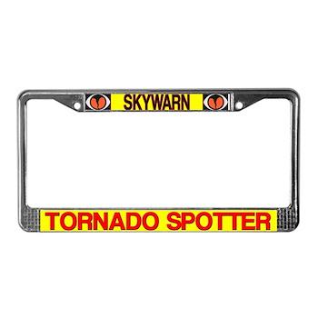 Skywarn Tornado Spotter License Plate Frame
