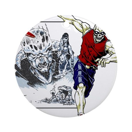 Tomb of Trouble Ornament (Round)