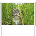 Stalking Kitty Yard Sign