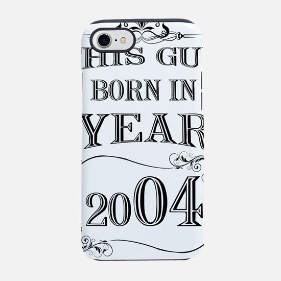 This guy born in year iPhone 7 Tough Case
