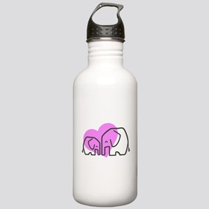 Elephants (1) Stainless Water Bottle 1.0L