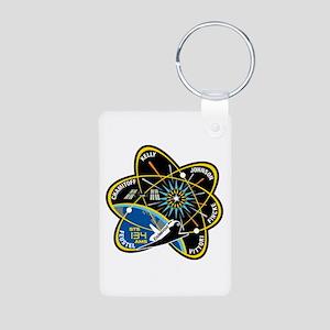 STS-134 Aluminum Photo Keychain
