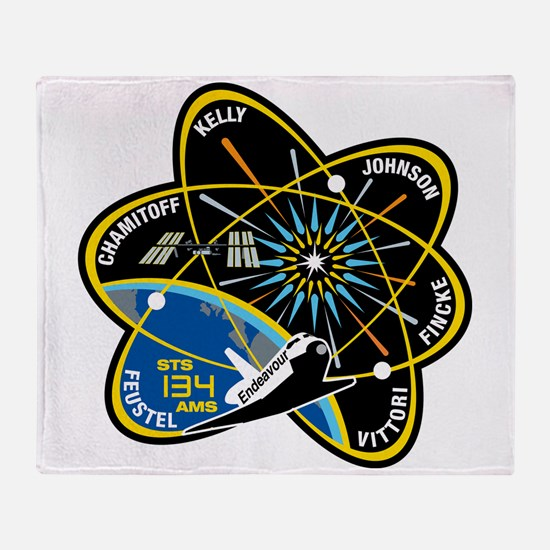 STS-134 Throw Blanket