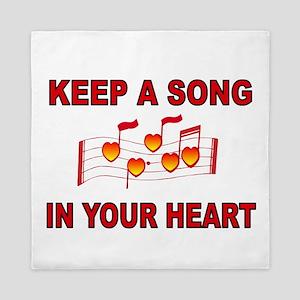 HEART SONG Queen Duvet