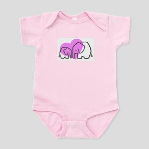Elephants (1) Infant Bodysuit