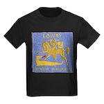 USS LOWRY Kids Dark T-Shirt