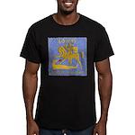 USS LOWRY Men's Fitted T-Shirt (dark)