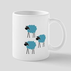 Sheep Fight Club Mug
