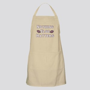 Football Nothing Else Matters Apron