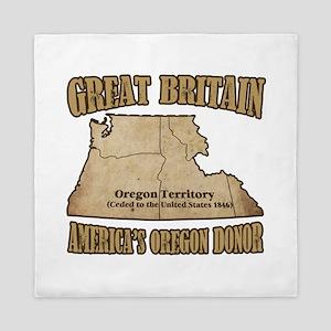 Oregon Donor Queen Duvet
