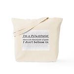 Poly-Atheist Tote Bag