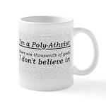 Poly-Atheist Mug