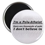 Poly-Atheist Magnet
