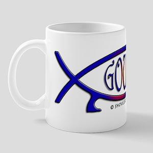 Gould Fish! Not Darwin Fish. Mug