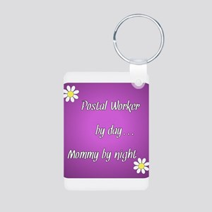 Postal Worker by day Mommy by night Aluminum Photo