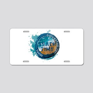 Texas - Galveston Aluminum License Plate