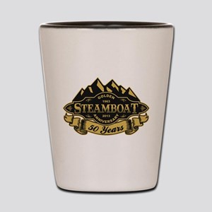 Steamboat 50th Anniversary Shot Glass