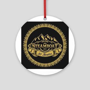 Steamboat 50th Anniversary Ornament (Round)