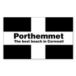 Porthemmet Sticker (Rectangle 50 pk)
