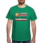 """""""I'd Rather Secede"""" Dark T-Shirt"""