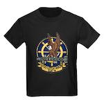 USS LITTLE ROCK Kids Dark T-Shirt