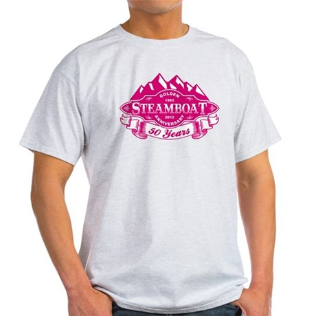 Steamboat 50th Anniversary Light T-Shirt