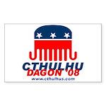 Cthulhu 2008 Sticker (Rectangle 50 pk)