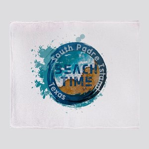 Texas - South Padre Island Throw Blanket