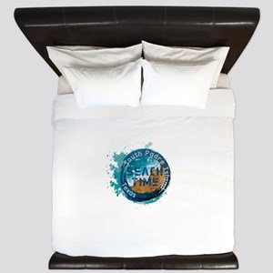 Texas - South Padre Island King Duvet