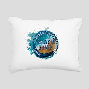 Texas - South Padre Isla Rectangular Canvas Pillow