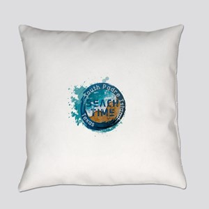 Texas - South Padre Island Everyday Pillow
