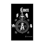 Coven Sticker (Rectangle 50 pk)